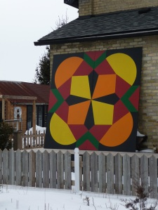 Heritage quilt block commemorating Mrs. Margaret Ward