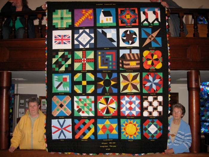 When it was unveiled at Wardsville United Church May 14th, the crowd gasped in awe.