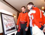 Royal Scots unveil painting of Battle of Longwoods by Duncan Ferguson